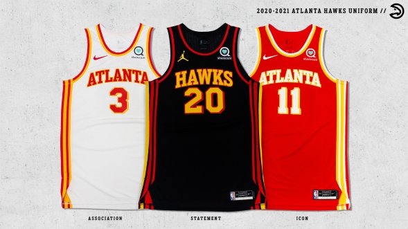 2021 ATL Hawks Uniform Laydowns